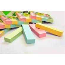 3 * 3 * 1/4 polegadas 75GSM Sticky Note Pad com 4 cores claras