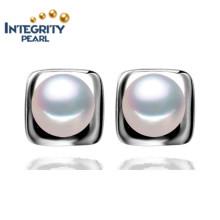 Boucles d'oreille à la perle de luxe