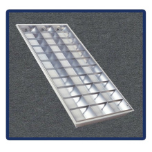 Tube Bracket, 1220*600/T5/4X40W Recessed Mounted Grille Lamp