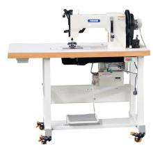 Máquina de costura de sapatos de ponto mocassim de agulha dupla de cama plana