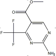 5-CARBOXYLATE DE MÉTHYL 2-AMINO 4-TRIFLUOROMÉTHYL PYRIMIDINE