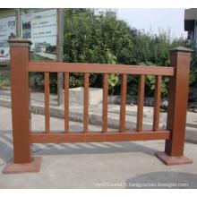 Fabricant de barrière anti-UV WPC de Chine