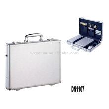 caja de aluminio fuerte y portátil del ordenador portátil fabricante de China