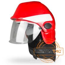 Xfk-03r-1 capacete de combate a incêndio adotar plástico reforçado