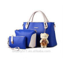Marque Mère paquet sacs à main sacs sacs en cuir PU authentique Crossbody handBag 3pc set HB38