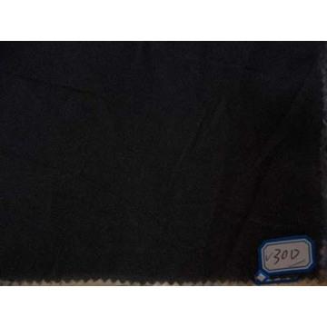 Сплетенный Двойн-многоточия Плавкий флизелин с белым, серый, черный (30D, с 20Д 75Д)