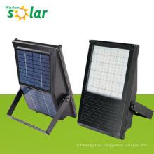 Aluminio Solar LED Flood luz con integrado panel solar JR-PB-001