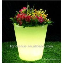 Pot de fleur décoratif LED, planteur de vase ciel moderne et postmoderne