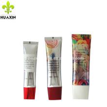 30 ml de embalagem de tubo de plástico de alumínio oval super para tintura de cabelo