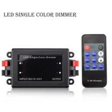 NEW DC12-24V 192w RF single color dimmer wireless controller
