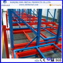International Ebil Metal Warehouse Push Back Rack Shelving