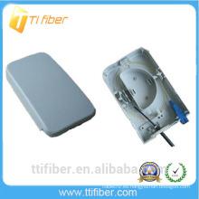 Impermeable 2 puertos ftth pequeña caja con adaptador SC para FTTH, FTTO y FTTD