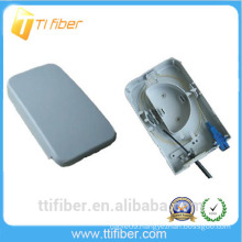 waterproof 2 port ftth small box with SC adapter for FTTH, FTTO and FTTD