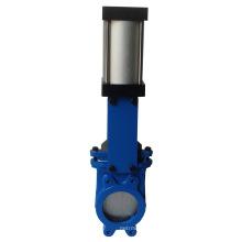 Китай сделал низкая цена высокое качество чугуна пневматическим приводом 4 дюймов шаровой клапан