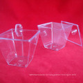 PP / PS пластиковый стаканчик одноразовый стаканчик с чашкой для десерта с крышкой