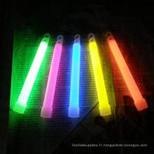jouets de vacances brillent 6 pouces bâtons