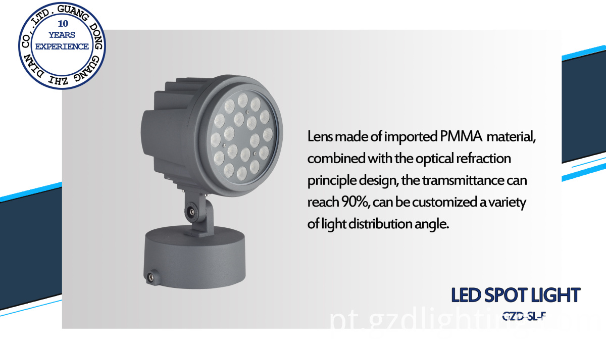 IP65 outdoor spot lamp