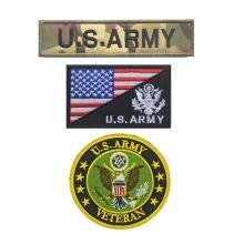 Parche militar bordado Parches de moral tácticos del ejército