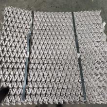 Métal déployé de grillage en acier galvanisé de 4x8 '