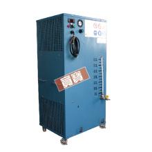 Vacuum condensing machine unit