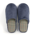 Soft Coral Fleece Memory Foam Indoor House Slippers