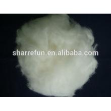 100% reine Enthaarte chinesische Angora Faser weiß 15.5mic / 32mm