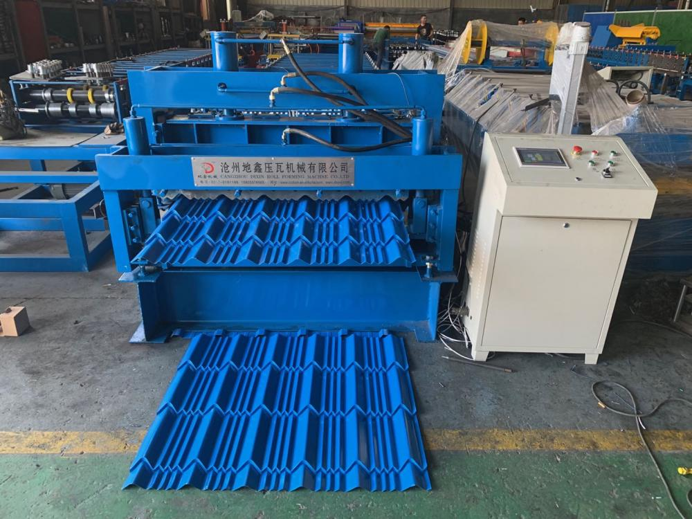 Glazed Roof Tile Making Machine Price