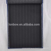 tira de painel super120S lã para terno