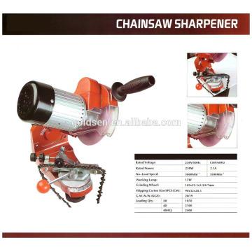 Profesional 145mm Bench-Mounted Chainsaw Cadena Afiladora Herramientas Grinder Electric 230w Chainsaw Sharpener
