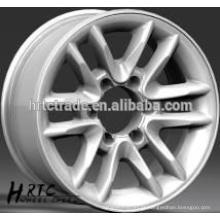 HRTC 16 * 8.0 e 17 * 8.0 rodas de alumínio do carro / rodas de alumínio do desempenho elevado para carros