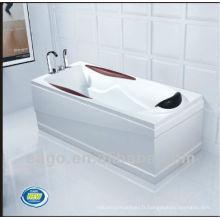 EAGO baignoire acrylique baignoire ordinaire LK1003