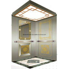 Passenger Elevator Lift Mirror Etching Aksen Hl-X-063