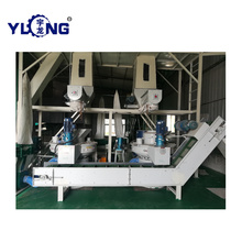 Industry engine power fine powder pellet production line