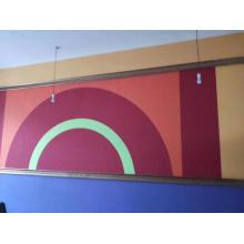 PET acoustic wall panel
