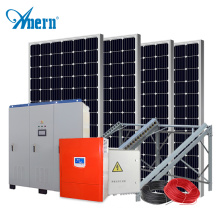 High quality complete off grid solar power system with battery