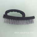 "6.5"" Heavy Duty Grip Plastic Handle Wire Brush"