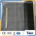 High quality fiberglass window screen, black fiberglass mesh