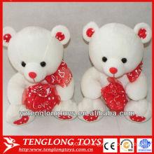 Populares y suaves regalos de San Valentín par juguete oso de peluche