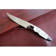 Conchas Handle faca de mesa (SE-0461)