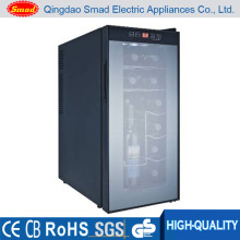 No Noise Auto-Defrost Полупроводниковый холодильник для вина