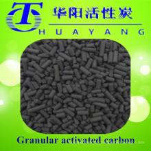 Máscara de gás de filtro de carbono ativado em coluna com base de carvão