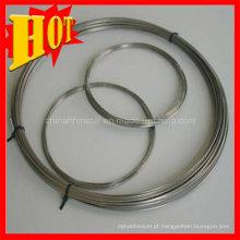 Fio Polised do Gr2 Titanium na forma da bobina