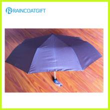 Lightweight 3 Folding Umbrella for Promotion