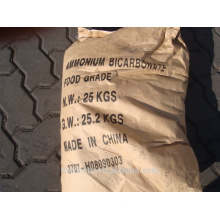 Grado alimenticio de bicarbonato de amonio