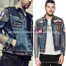Jeans jacket fashion wear for men and women wholesale unisex