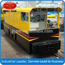 fast speed 12T AC Frequency underground mining locomotive