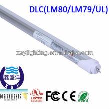 3/5 лет гарантии ul / dlc перечисленные 120 см t8 светодиодные трубки