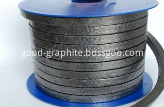 Woven graphite stuffing