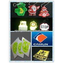 reflective PVC sticker,key chain