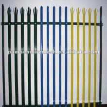 Hohe Qualität D oder W Pales Palisade Zaun PVC Hersteller (CN)